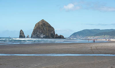 Photograph - Low Tide At Cannon Beach by Tom Cochran