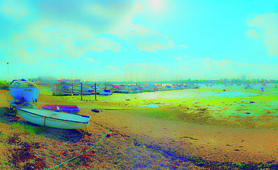Photograph - Low Tide At Easty Basin by Jan W Faul