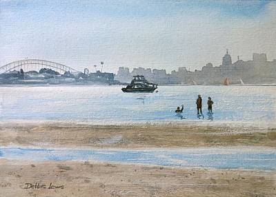 Painting - Low Tide At Rose Bay by Debbie Lewis