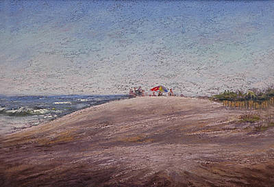 Low Tide At The Beach Art Print by Deb Spinella
