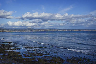Photograph - Low Tide At The Hook, Santa Cruz Ca by Morgan Wright