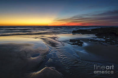 Photograph - Low Tide At Torregorda Beach San Fernando Cadiz Spain by Pablo Avanzini