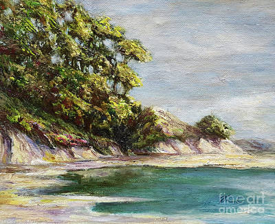 Painting - Low Tide Beach by Danuta Bennett