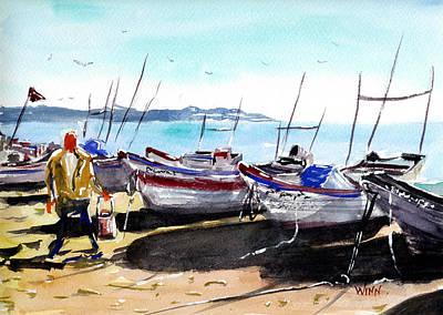 Painting - Low Tide by Brett Winn