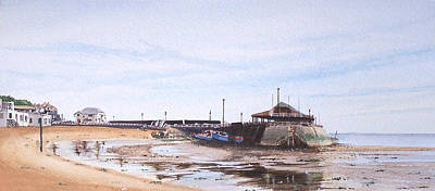 Painting - Low Tide Broadstairs by Martin Howard