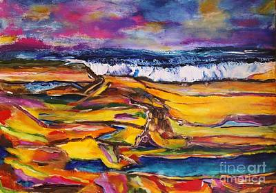 Painting - Low Tide by Chaline Ouellet