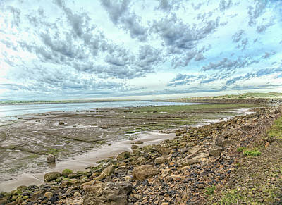 Photograph - Low Tide Clouds by Bill Posner