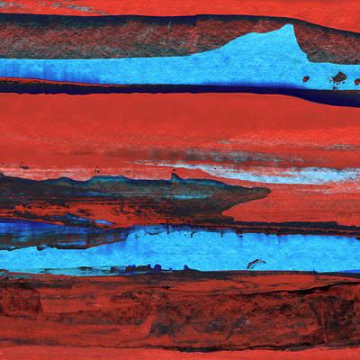 Painting - Low Tide by Daniel Ferguson