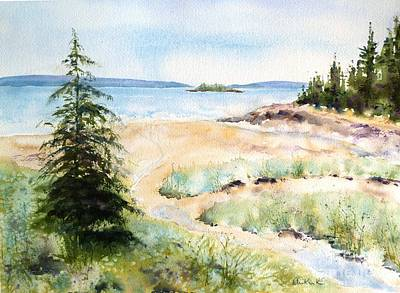 Painting - Low Tide by Diane Kirk