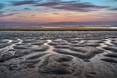Photograph - Low Tide Dusk by Greg Nyquist