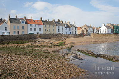 Anstruther Photograph - Low Tide by Elena Perelman