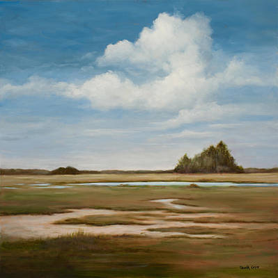Painting - Low Tide by Glenda Cason