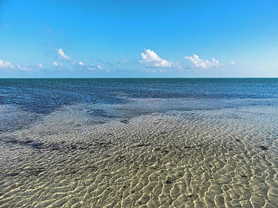 Photograph - Low Tide Horizon In Key West by Bob Slitzan