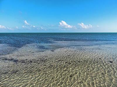 Photograph - Low Tide Horizon In Key West by Bob Slitzan
