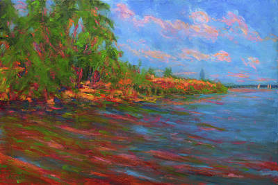 Painting - Low Tide In Mobile Bay by Vernon Reinike