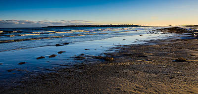 Photograph - Low Tide In Winter by Robert McKay Jones