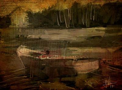 Digital Art - Low Tide by Jim Vance