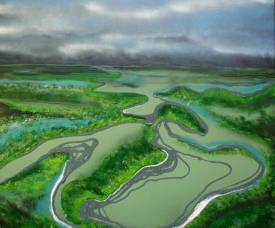 Queensland Wall Art - Painting - Low Tide by Joan Stratton