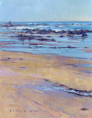Painting - Low Tide / Crystal Cove by Konnie Kim