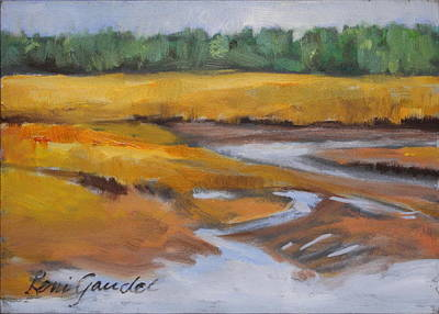 Painting - Low Tide by Lenore Gaudet