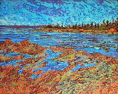 Painting - Low Tide Oak Bay Nb by Michael Graham