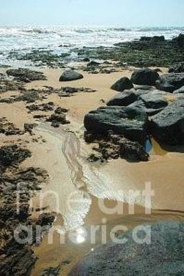Outgoing Tide Photograph - Low Tide On Naozhoa Island by Bruce Slaugenhaupt