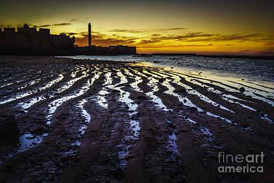 Photograph - Low Tide On Saint Sebastian Castle by Pablo Avanzini