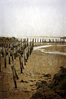 Photograph - Low Tide Oregon Coast 2.0 by Michelle Calkins