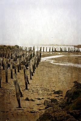 Photograph - Low Tide Oregon Coast 2.0 by Michelle Calkins
