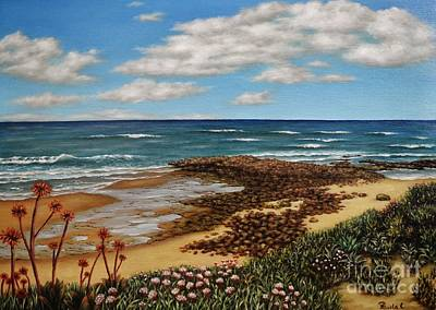 Painting - Low Tide by Paula Ludovino