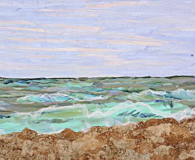 Tapestry - Textile - Low Tide by Pauline Barrett