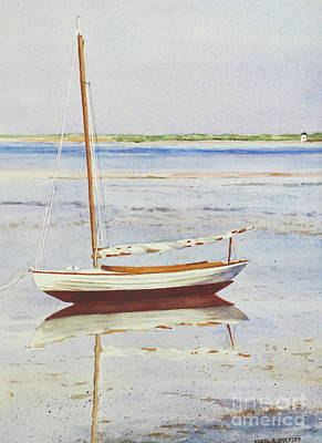 Painting - Low Tide Reflection by Karol Wyckoff