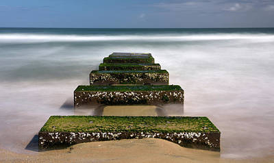 Photograph - Low Tide Reveal by Jamie Pattison
