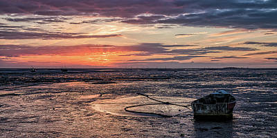 Photograph - Low Tide, Thurstaston by Peter OReilly
