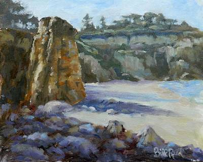 Painting - Low Tide by William Reed