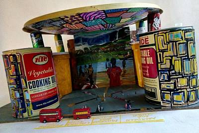 Mixed Media - Lowcost Quarry Bus Station - Kissy - Freetown by Mudiama Kammoh