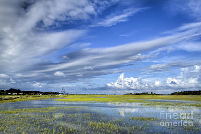 Floods Photograph - Lowcountry Flood Tide II by Dustin K Ryan