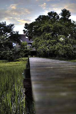 South Dock Wall Art - Photograph - Lowcountry Living by Dustin K Ryan