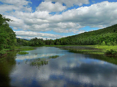 Photograph - Lower Baker Pond In New Hampshire by Nancy Griswold