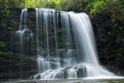 Lower Bearwallow Falls Art Print