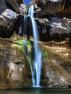 Photograph - Lower Calf Falls by Walt Sterneman