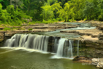 Photograph - Lower Cataract Falls by Adam Jewell