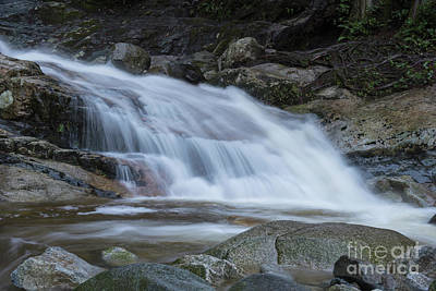 Photograph - Lower Crystal Falls by Rod Wiens
