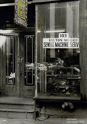 Photograph - Lower East Side by Mark Alesse