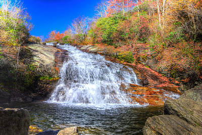Photograph - Lower Falls At Graveyard Fields by Don Mercer