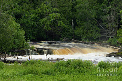 Photograph - Lower Falls At Tahquamenon by Jennifer White