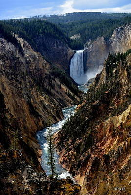 Photograph - Lower Falls by Carrie Putz