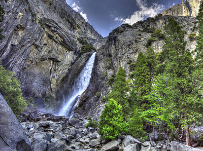 Valentines Day - Lower Falls Climb by Charles Meador