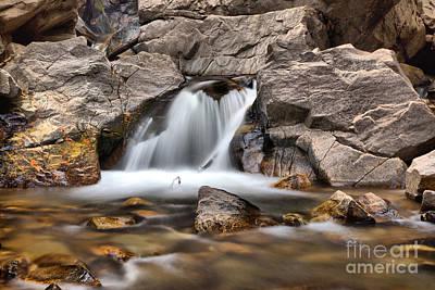 Photograph - Lower Falls Creek Falls by Adam Jewell