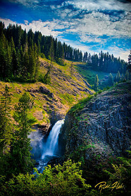 Photograph - Lower Falls - Elk Creek Falls by Rikk Flohr